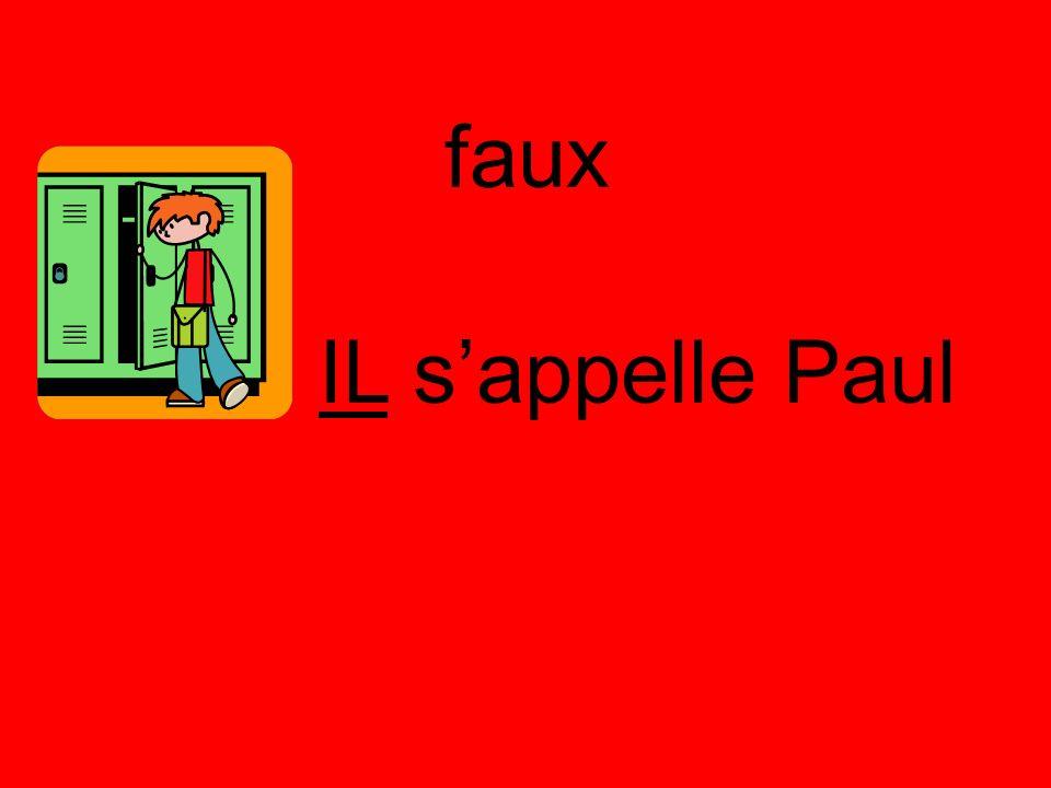 faux IL sappelle Paul