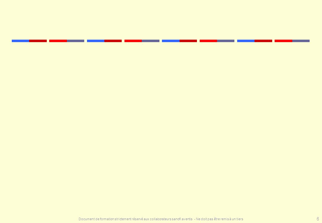 Document de formation strictement réservé aux collaborateurs sanofi aventis - Ne doit pas être remis à un tiers 97 Les Fiches AP - HP : risque lié au malade niveau 1 Pas de facteur de risque niveau 2 Age > 40 ans Contraception Cardiopathie décompensée Alitement préopératoire > 4 j Varices Infection Obésité Post-partum niveau 3 Cancer Antécédents Paralysie Syndrome myéloprolifératif Thrombophilie Association de plusieurs facteurs de niveau 2