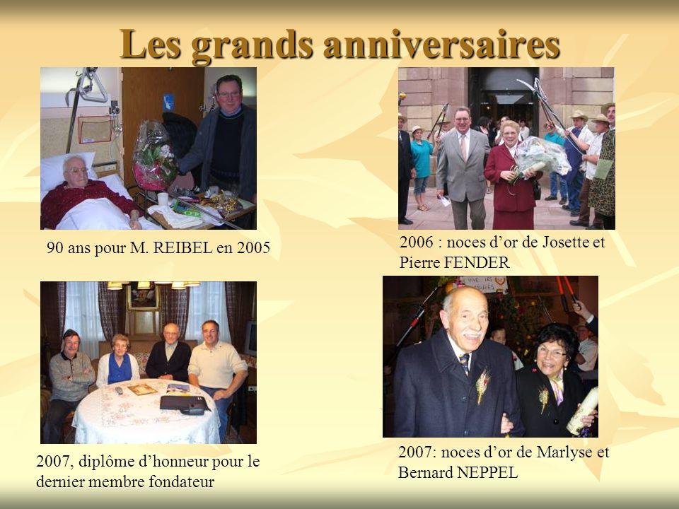 Les grands anniversaires 90 ans pour M.
