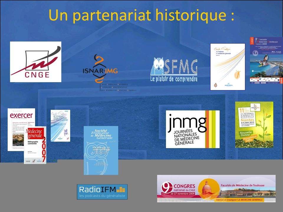 Un partenariat historique :