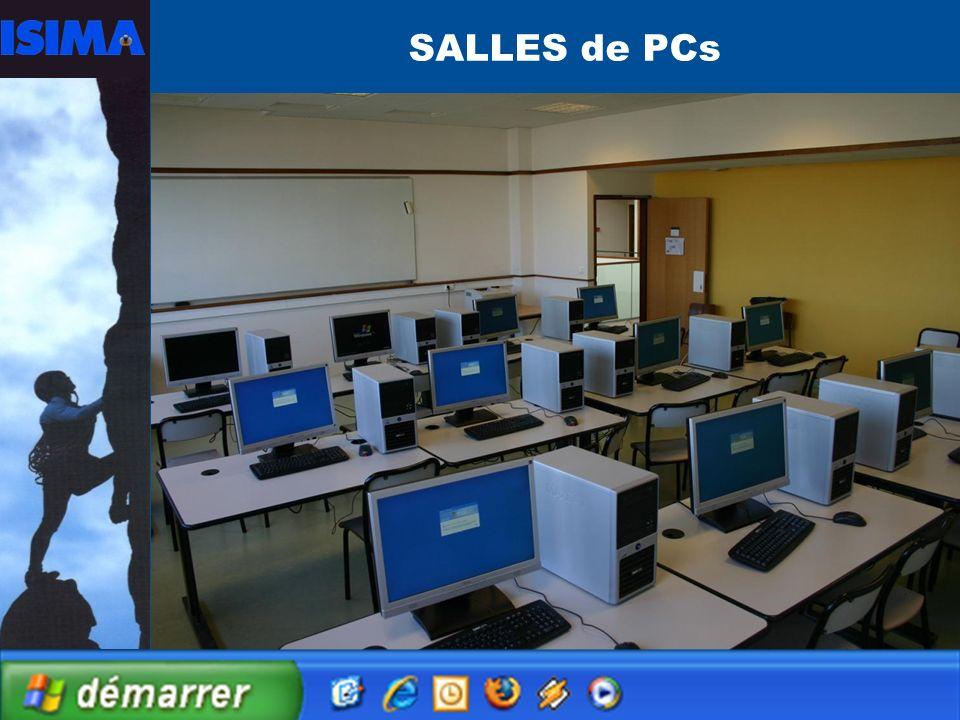28 SALLES de PCs