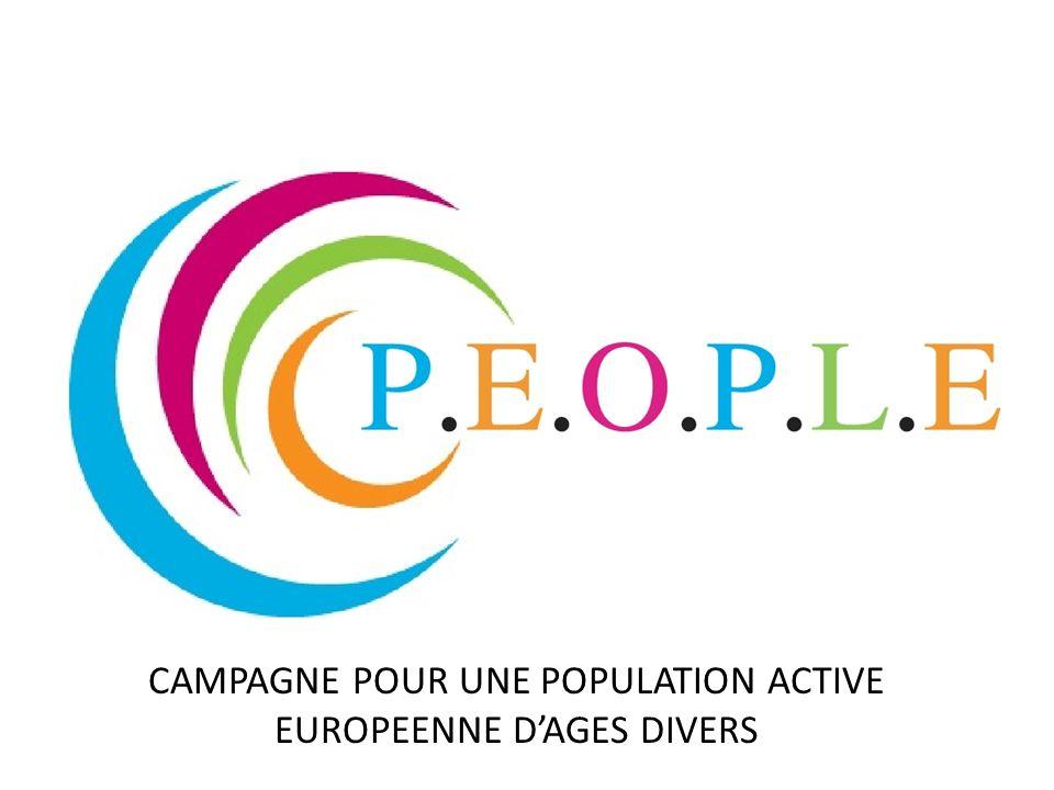 CAMPAGNE POUR UNE POPULATION ACTIVE EUROPEENNE DAGES DIVERS