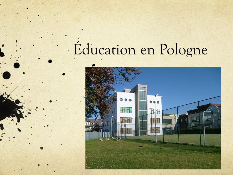 Éducation en Pologne