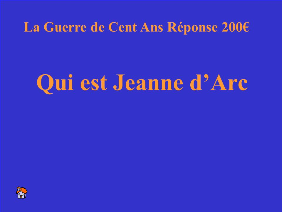 16 La jeune fille qui a sauvé la France La Guerre de Cent Ans 200
