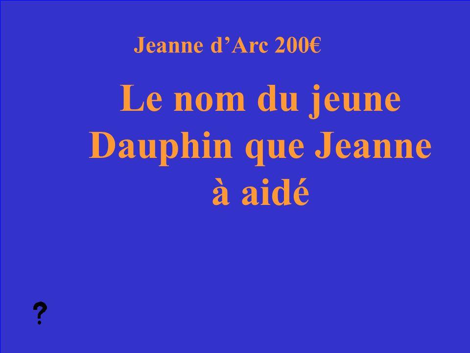 25 Qui sont St. Michel et Ste Catherine Jeanne dArc Réponse 100