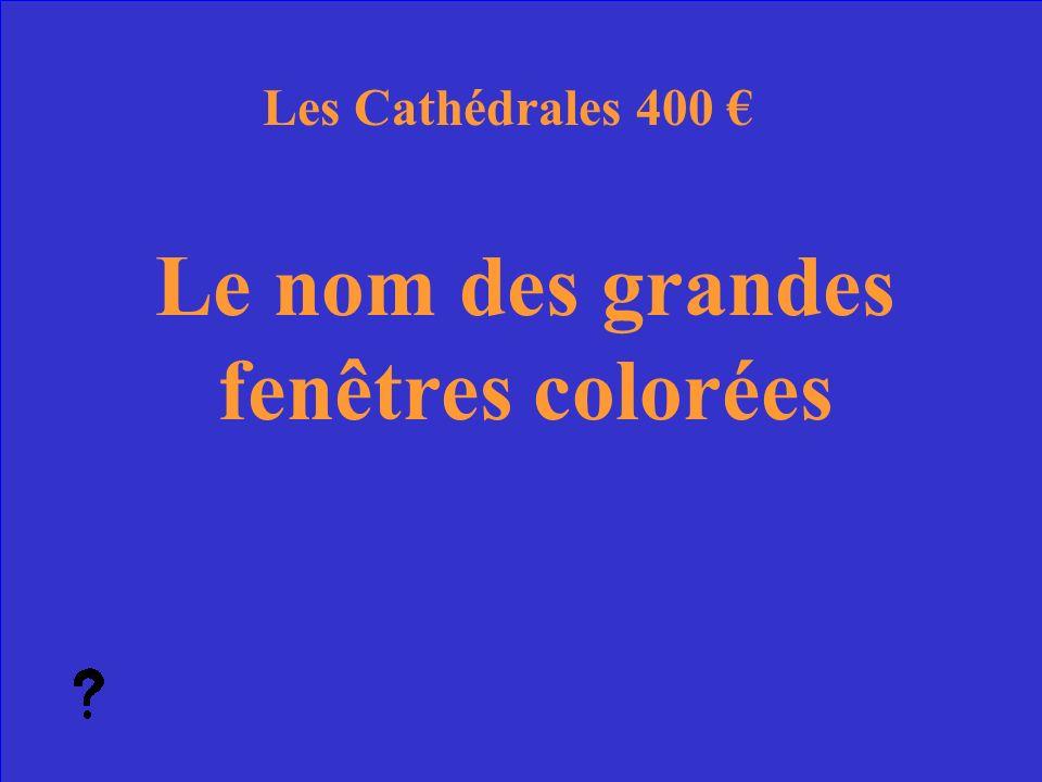 39 Quels sont les arc-boutants Les Cathédrales Réponse 300