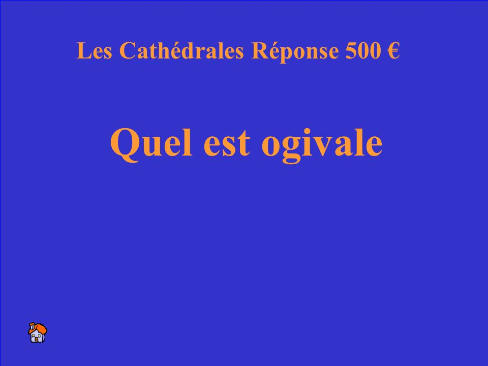 42 Un autre mot pour gothique Les Cathédrales 500