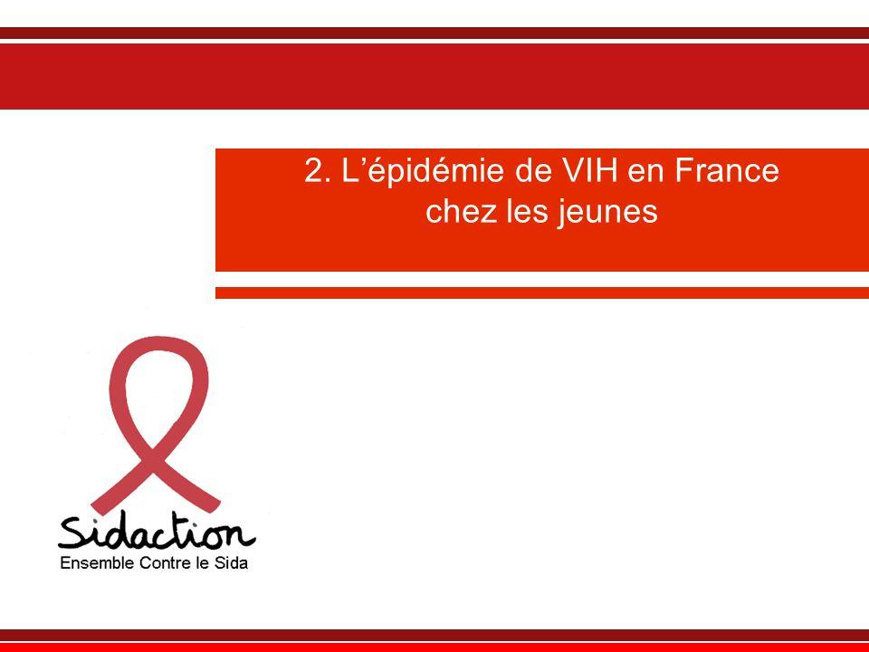 Eléments de cadrage : le VIH/sida en France et dans le monde Dans le monde : 33,4 millions de personnes environ vivent avec le VIH.