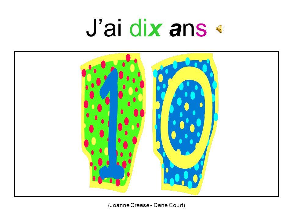 (Joanne Crease - Dane Court) Jai neuf ans