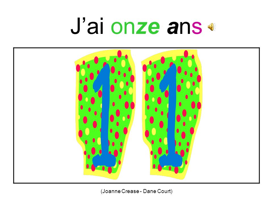 (Joanne Crease - Dane Court) Jai dix ans