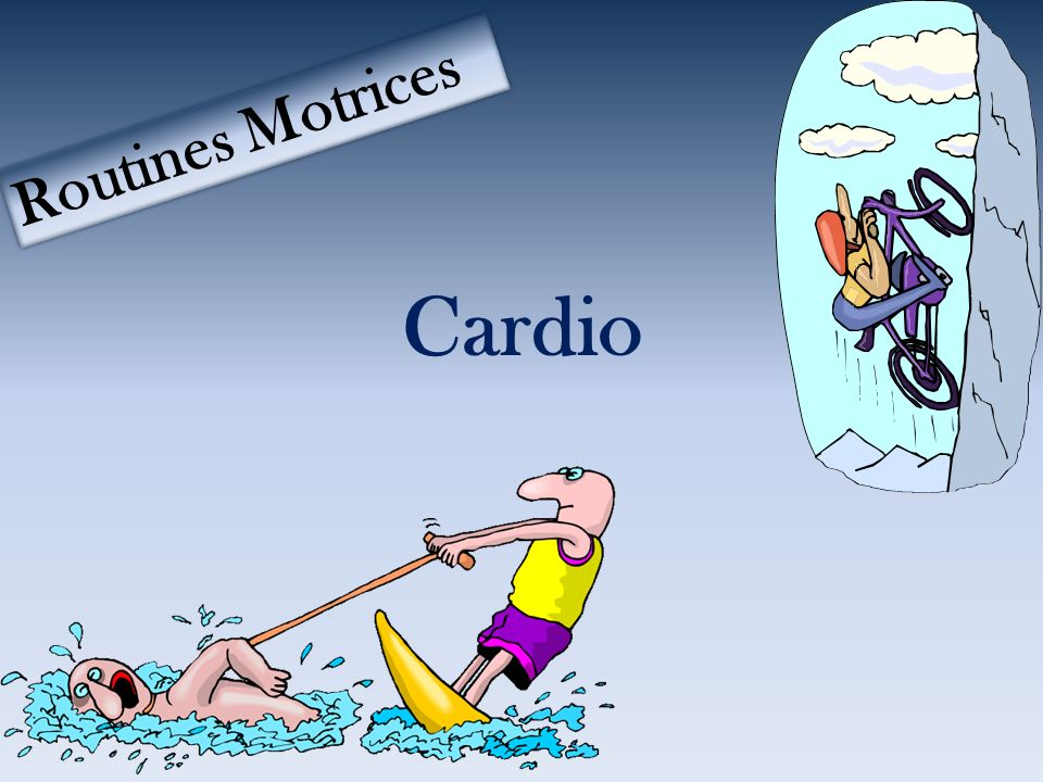 Cardio Routines Motrices