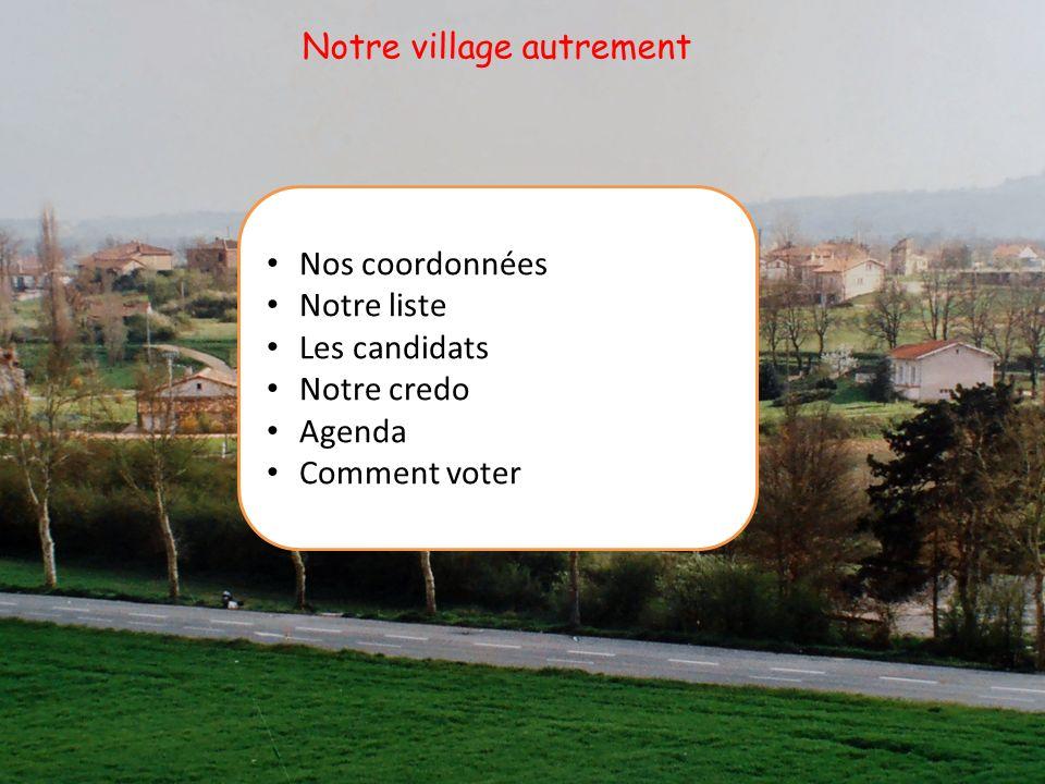 Jean Andre : 67 ans, retraité A la Magdelaine sur Tarn depuis 1960 Marié, 2 enfants Professeur des écoles Conseiller sortant « Participer à une action commune positive mapparait comme essentiel.