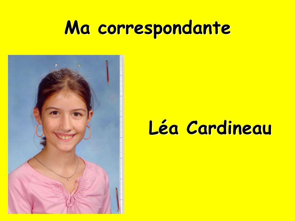Ma correspondante Léa Cardineau