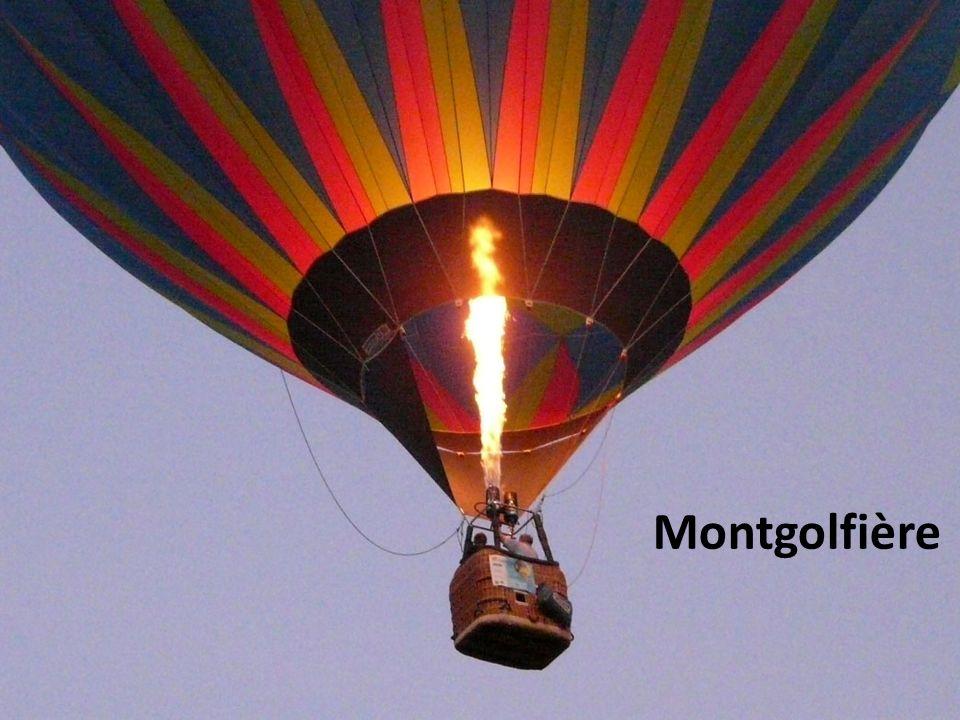 Aéronefs non motorisés Montgolfière