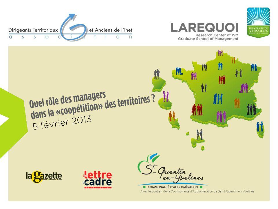 Avec le soutien de la Communauté dAgglomération de Saint-Quentin-en-Yvelines