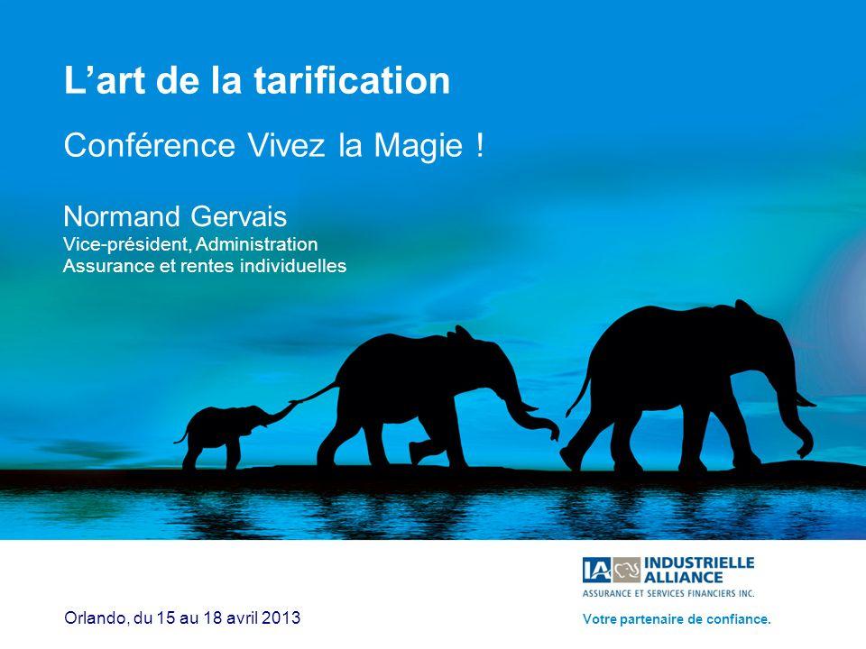 1 Lart de la tarification Conférence Vivez la Magie .