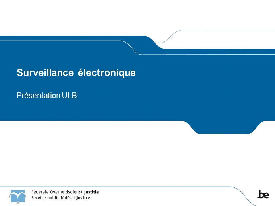 Surveillance électronique Présentation ULB