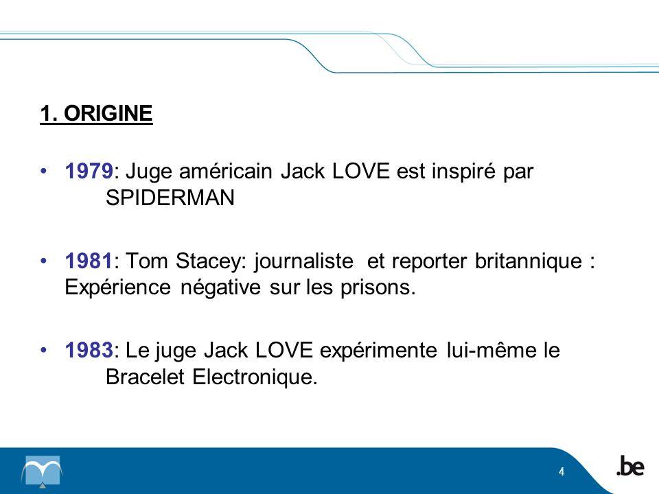 1979: Juge américain Jack LOVE est inspiré par SPIDERMAN 1981: Tom Stacey: journaliste et reporter britannique : Expérience négative sur les prisons.