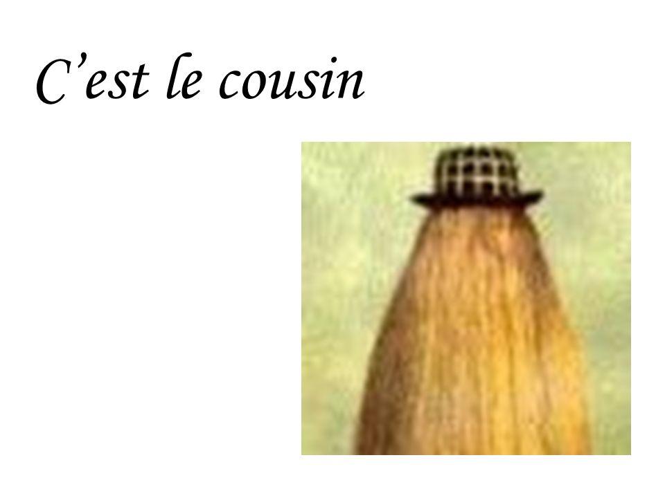 Cest le cousin