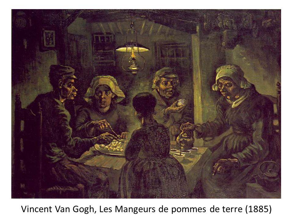 Période postimpressionniste (1888-90): rendre la réalité spirituelle de ses sujets En février 1888, Van Gogh part pour Arles, en Provence où il va, entre 1888 et 1890 réaliser ses plus grandes œuvres.