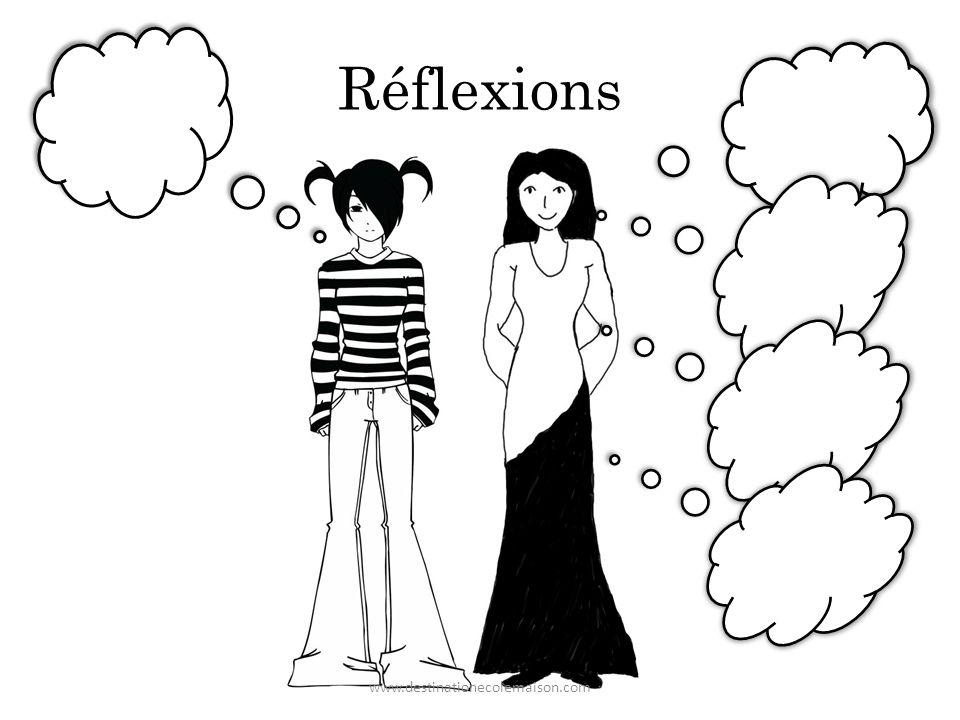 Réflexions www.destinationecolemaison.com