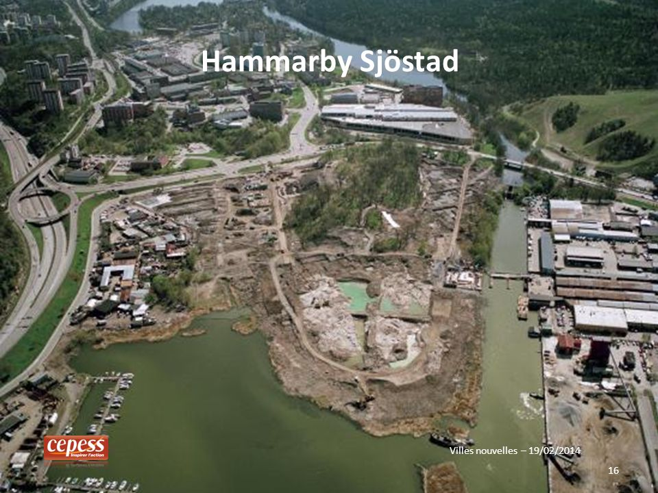 16 Hammarby Sjöstad Villes nouvelles – 19/02/2014
