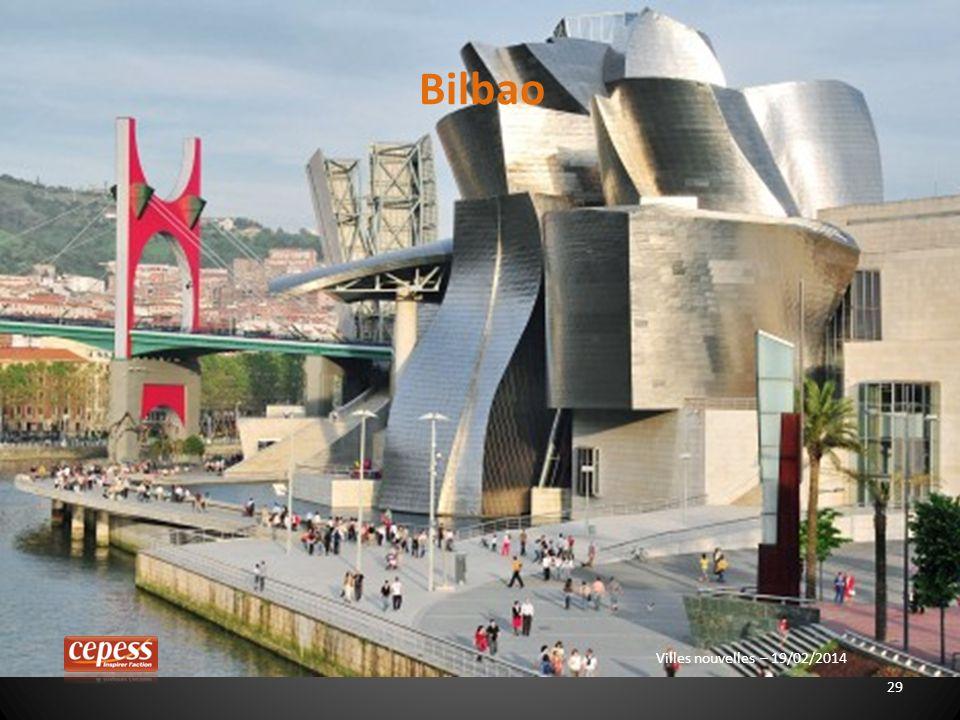 29 Villes nouvelles – 19/02/2014 Bilbao