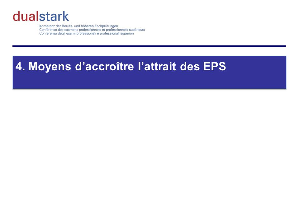 4. Moyens daccroître lattrait des EPS