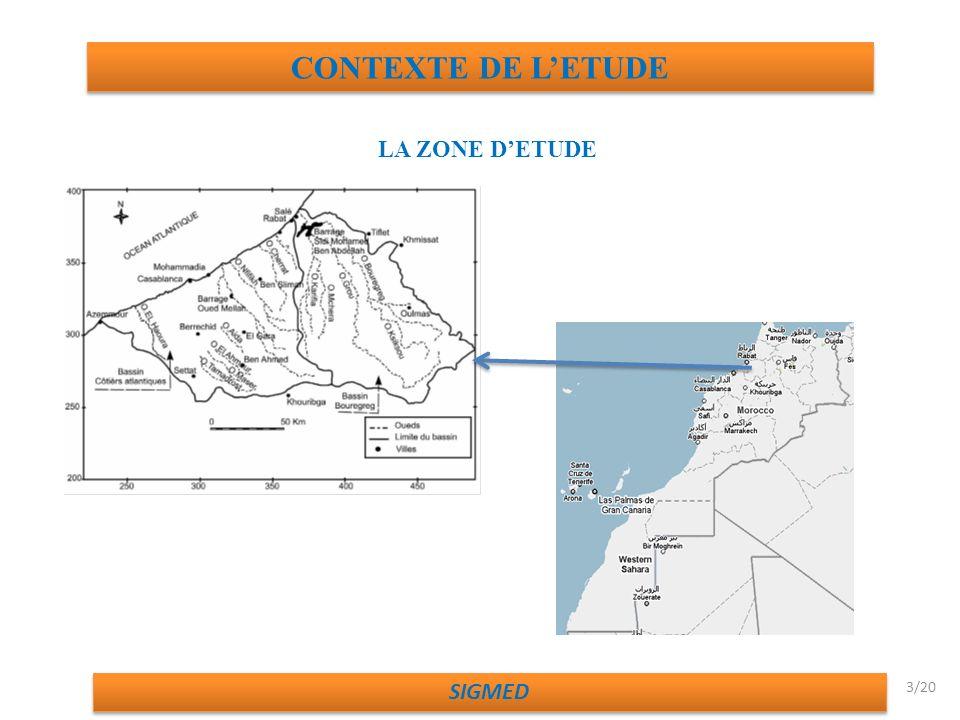 CONTEXTE DE LETUDE LA ZONE DETUDE SIGMED 3/20