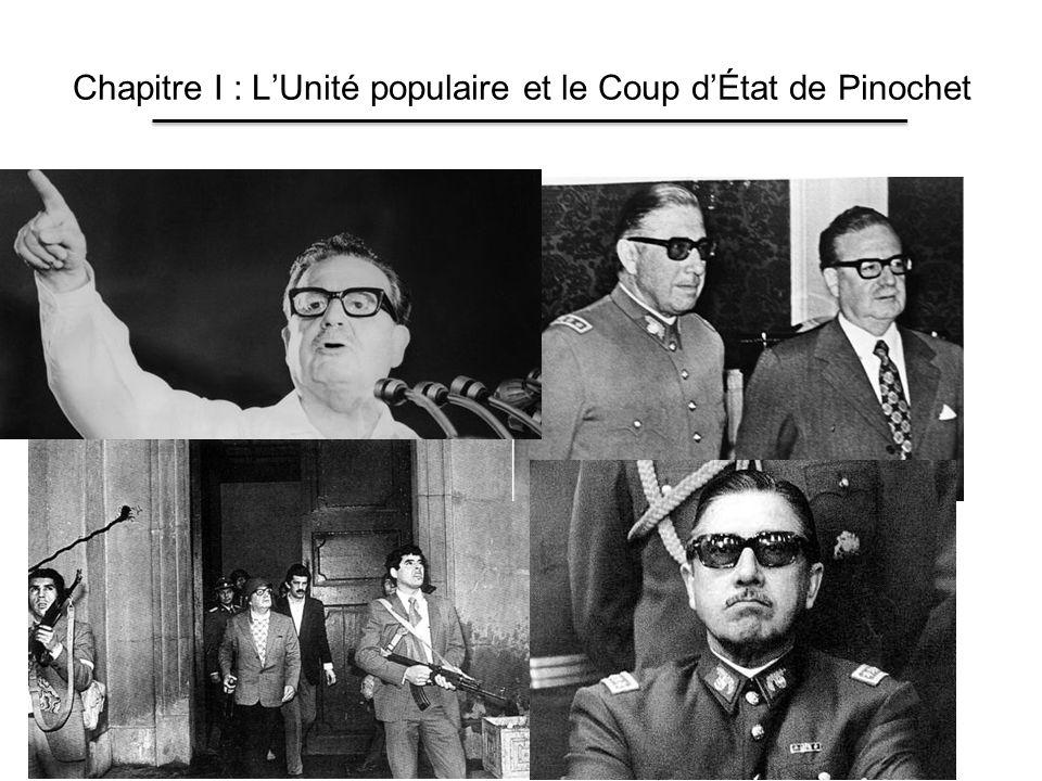 Chapitre I : LUnité populaire et le Coup dÉtat de Pinochet