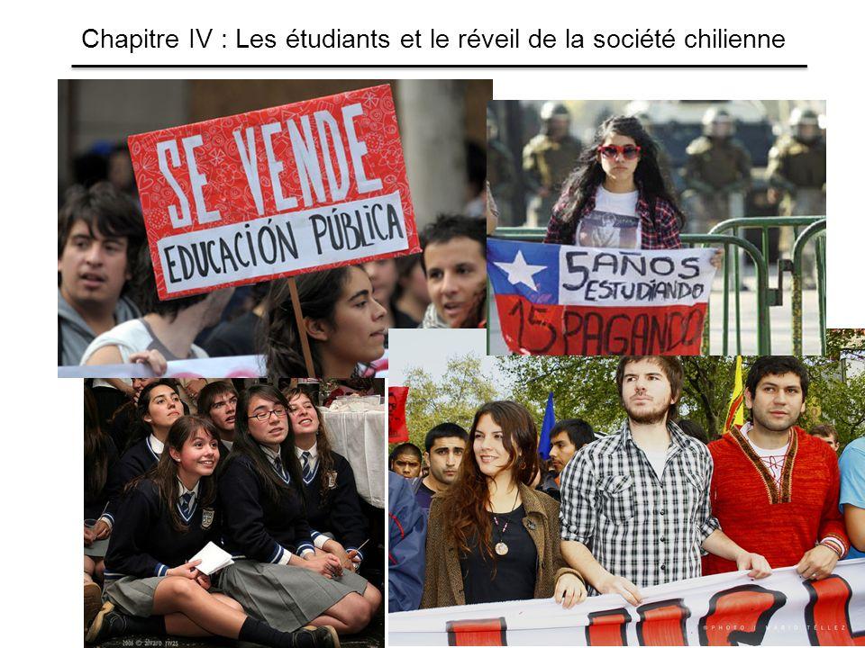 Chapitre IV : Les étudiants et le réveil de la société chilienne