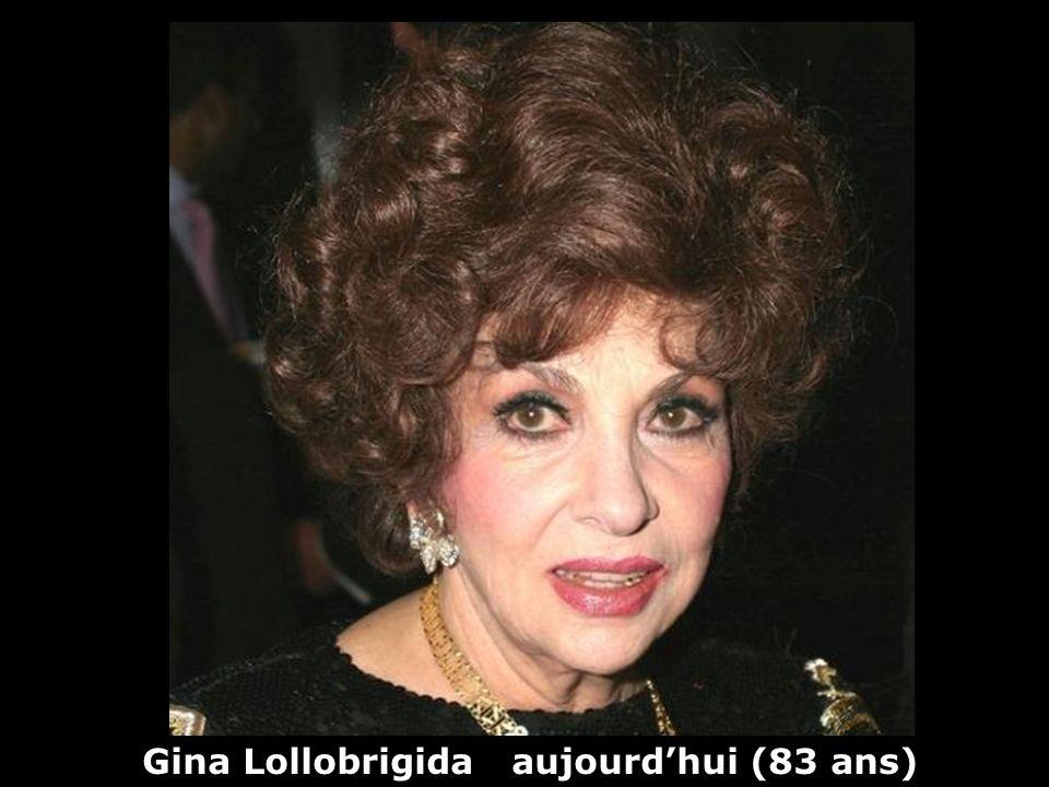 Gina Lollobrigida (1927) actrice Hier