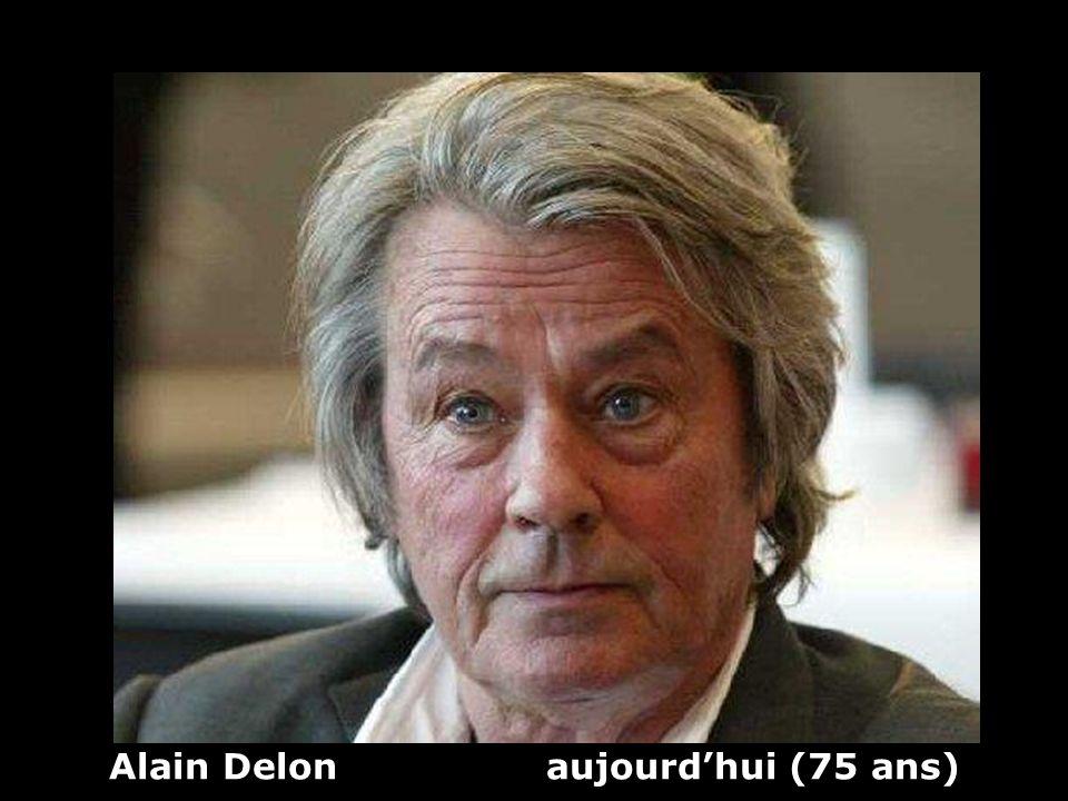 Alain Delon aujourdhui (75 ans)