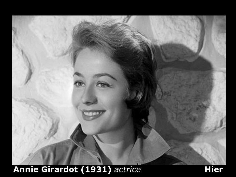 Marianne Faithfull (1946) Chanteuse de rock et actrice Hier
