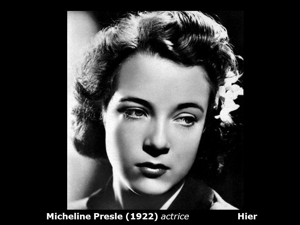 Micheline Dax aujourdhui (86 ans)