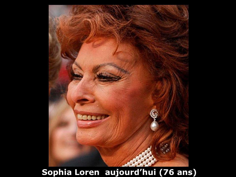 Sophia Loren (1934) actrice Hier