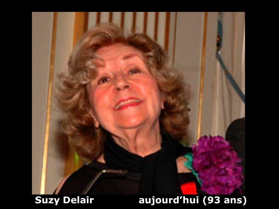 Suzy Delair (1917) actrice Hier