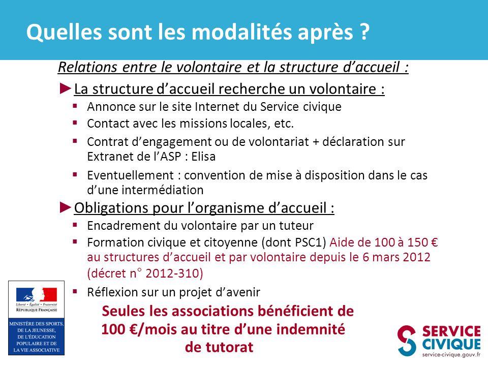 1. Télécharger le dossier de demande dagrément et tous les autre document nécessaires sur le site www.service-civique.gouv.fr 2. Envoi du dossier de d