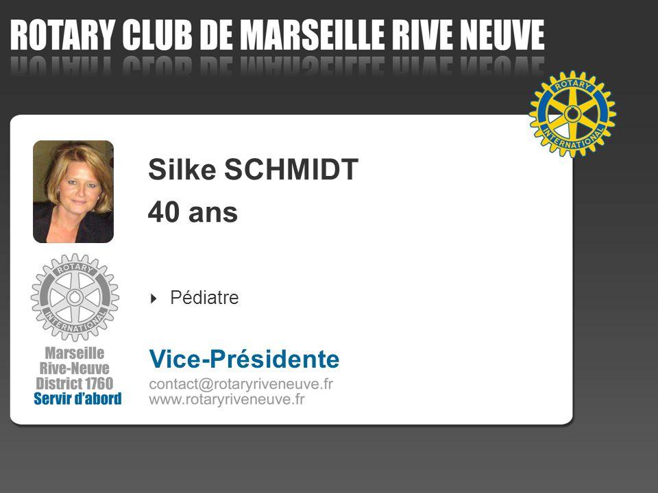 Silke SCHMIDT 40 ans Pédiatre Vice-Présidente