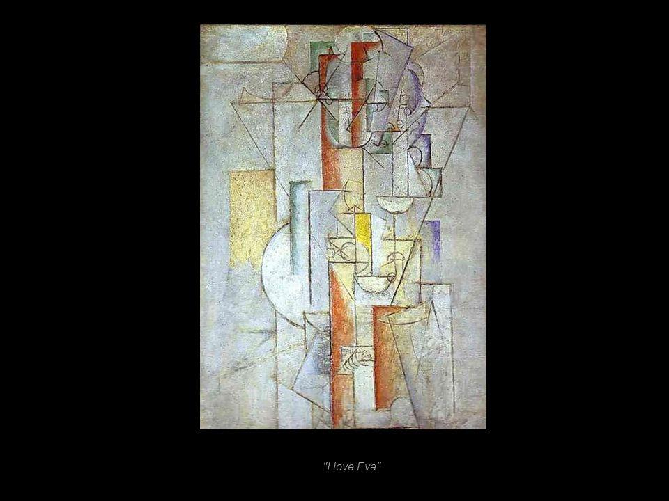 «Ma Jolie». Le mot désigne Eva Gouel, la compagne de Picasso à lépoque. 1914