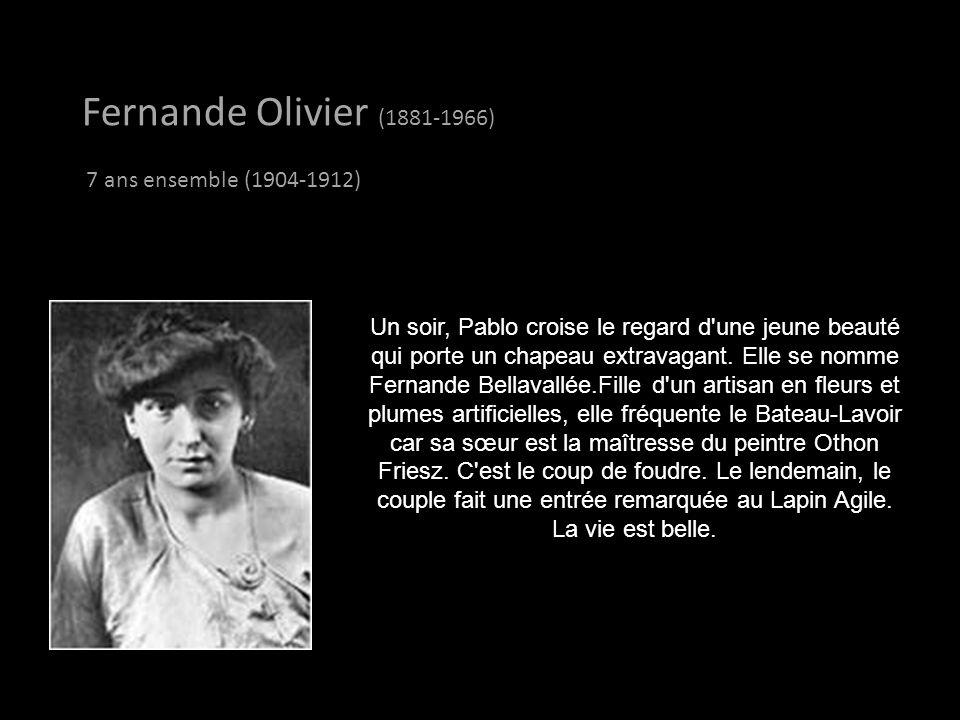 Pablo Picasso a eu 8 femmes dans sa vie, y compris ses 2 épouses. (Ogla Khoklova et Jacqueline Roque). Fernande Olivier Fernande Olivier (1881-1966)-