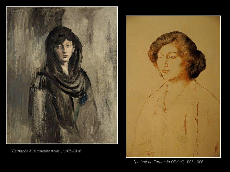Fernande Olivier Fernande Olivier (1881-1966) 7 ans ensemble (1904-1912) Un soir, Pablo croise le regard d'une jeune beauté qui porte un chapeau extra