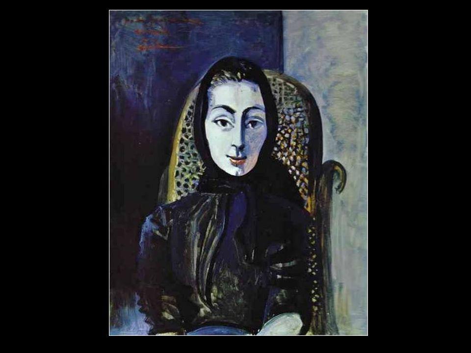 Femme dans un fauteuil (Jacqueline Roque Picasso) 1960