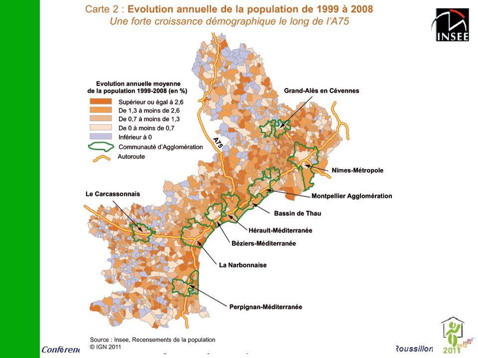 Conf é rence vieillissement et logement 14 juin Montpellier Insee Languedoc-Roussillon