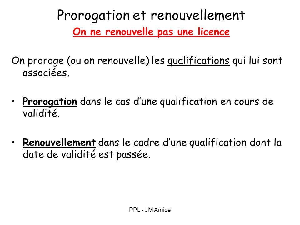 Prorogation Prorogation renouvellement classe S E P (single engine piston)
