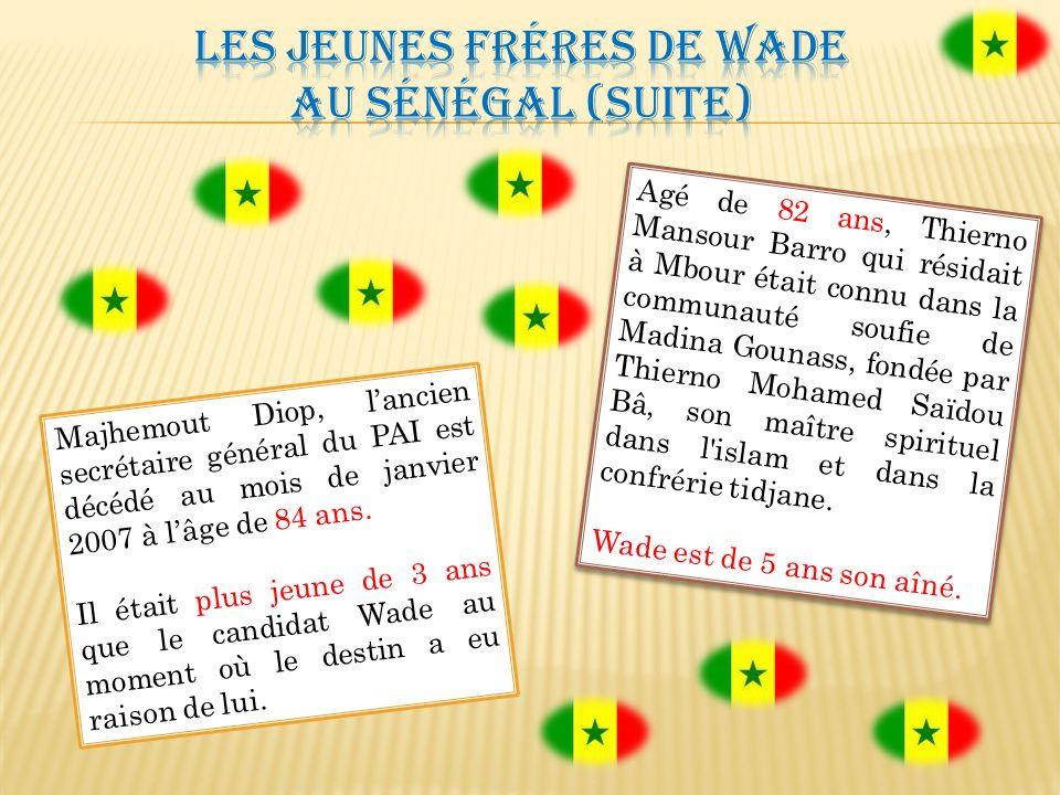 Labbé Augustin Diamacoune Senghor, le chef charismatique du Mouvement des Forces Démocratiques de Casamance (MFDC) est décédé des suites d une longue maladie le 14 janvier 2007 à lâge de 78 ans à lhôpital du Val de Grâce à Paris où il était hospitalisé depuis octobre 2006.