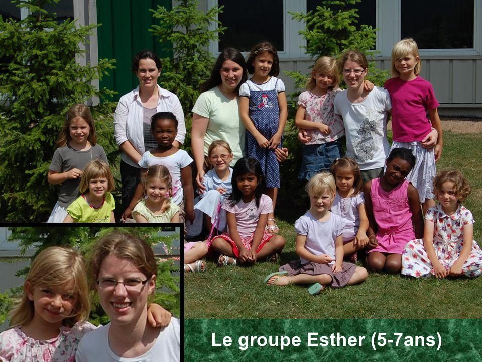 Le groupe Esther (5-7ans)