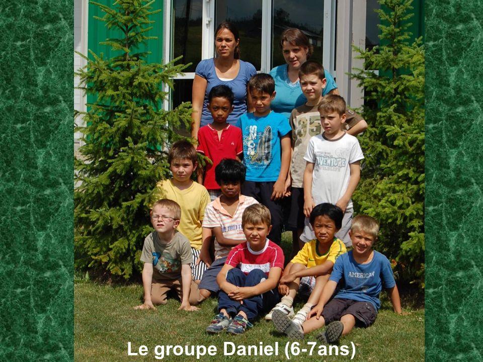 Le groupe Daniel (6-7ans)