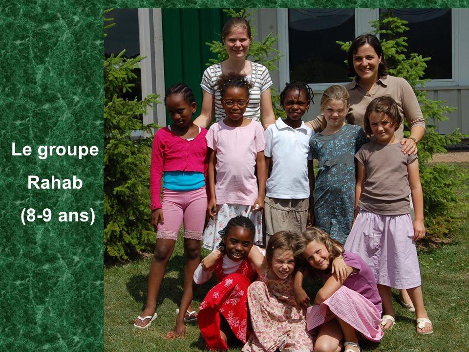Le groupe Rahab (8-9 ans)