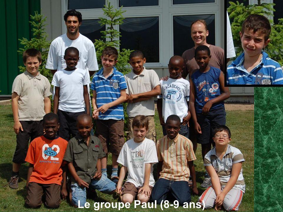 Le groupe Paul (8-9 ans)